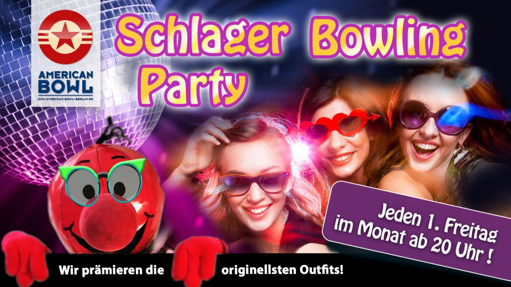 Schlager-Bowling-Party
